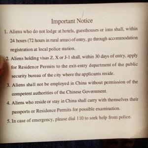 Duidelijk instructies op de achterzijde van het immigratieformulier