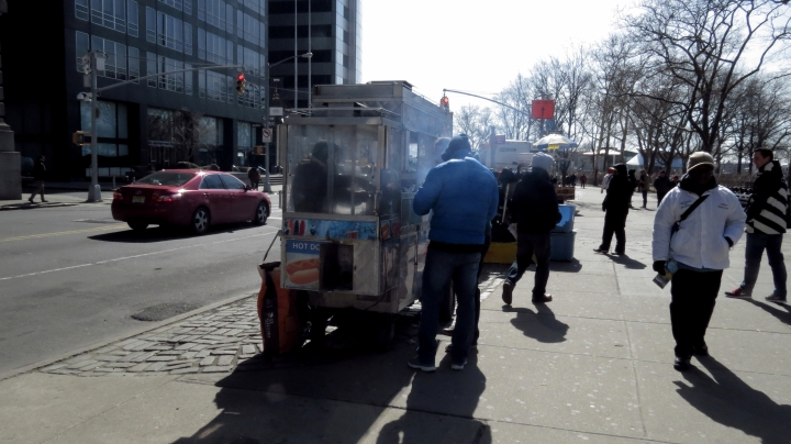 Hot dogs Vendor New York