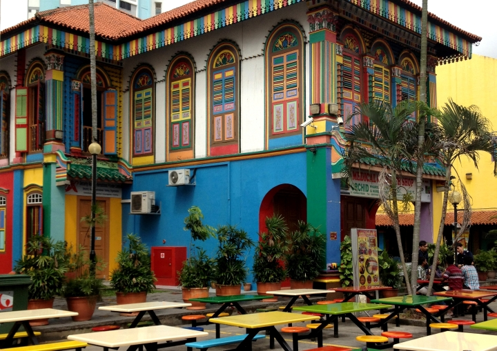 Rainbow house Singapore